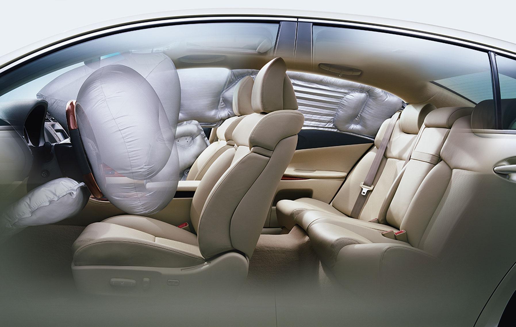 LexusGS_Airbags